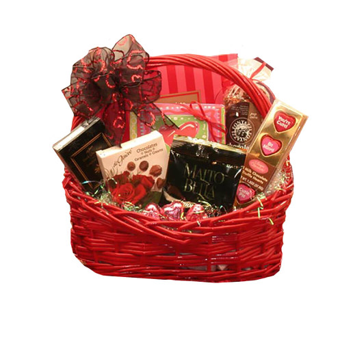 You are the Sweetest Valentines Chocolates Gift Basket | Valentine Gift Basket