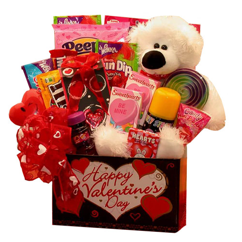 Special hugs for you Kids Valentine Gift Box | Valentine's Day Gift Basket