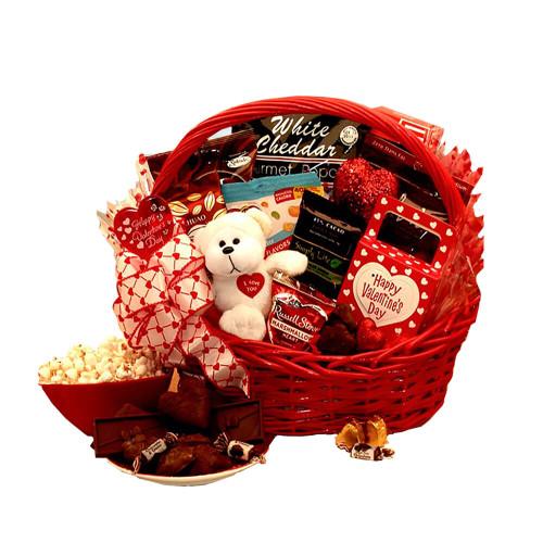 My Sugar Free Valentine Gift Basket| Valentine's Day Gift Basket