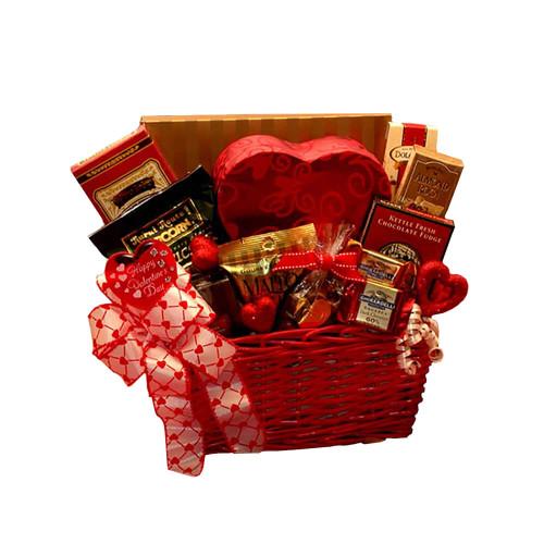 Cupids Choice Valentines Chocolates Gift Basket   Valentine's Day Gift Basket