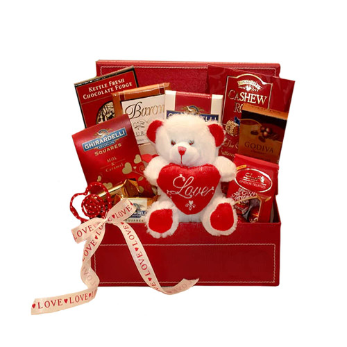 Be My Special Love Chocolate Valentines Gift Set | Valentine gift baskets