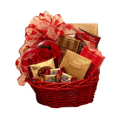 Sweet Inspirations Valentine's Gift Basket | Valentine's Day Gift Baskets