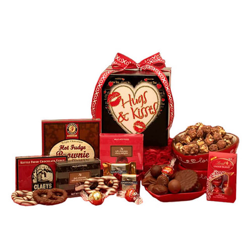 Lots of hugs & Kisses Valentine's Day Care Package   Valentine's Care Packages