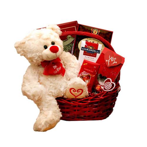 Be Mine Forever Valentine's Gift Basket | Valentine's Day Gift Baskets
