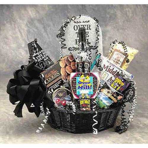 Over The Hill Birthday Basket | Birthday Gift Baskets