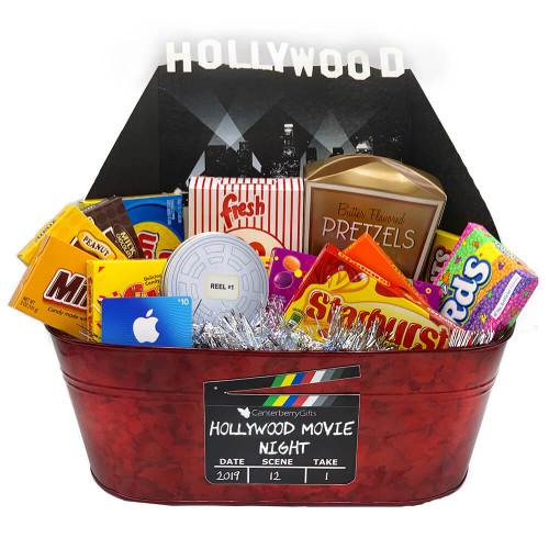 Hollywood Movie Gift Basket | Movie Night Gift Baskets