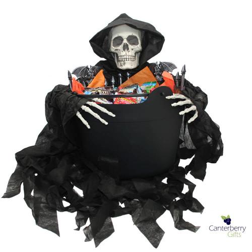 Grim Reaper Halloween Gift Basket