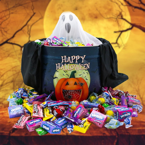 Happy Halloween Gift Pail | Halloween Gift Baskets | Spooky Baskets