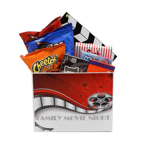 Family Movie Night Gift Box | Movie Basket