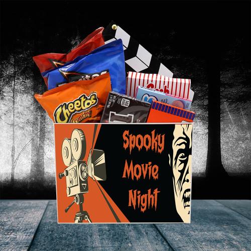Spooky Movie Night Gift Box | Spooky Basket