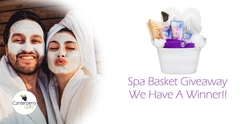 Congratulations to our Spa Basket Winner!