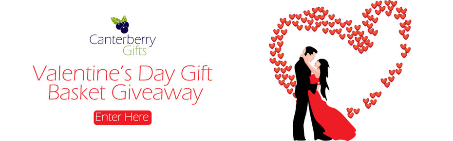 We have a winner for our Valentine's Day gift basket giveaway!