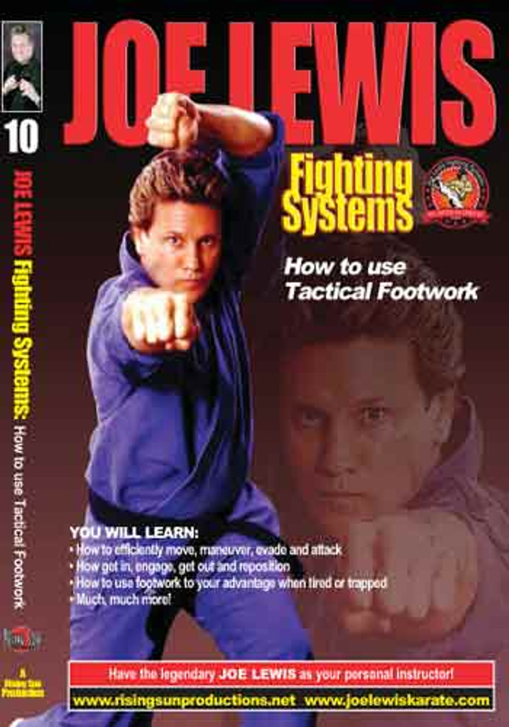Joe Lewis - How to Use Tactical Footwork