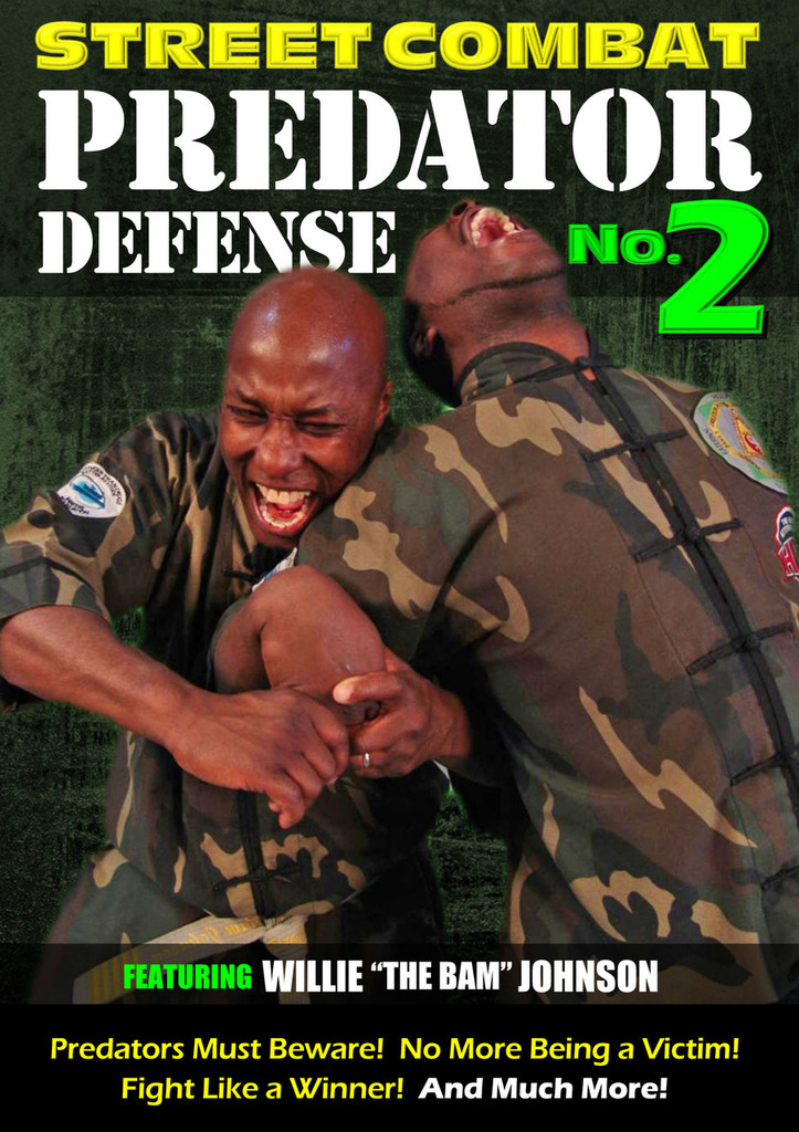 """Street Combat by Willie """"The Bam"""" Johnson"""