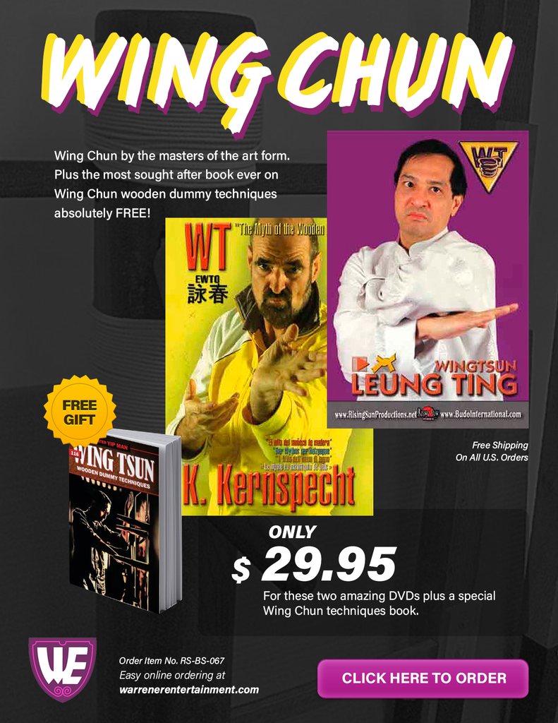 Wing Chun Special Box Set ( 2 DVDs + Free Book )