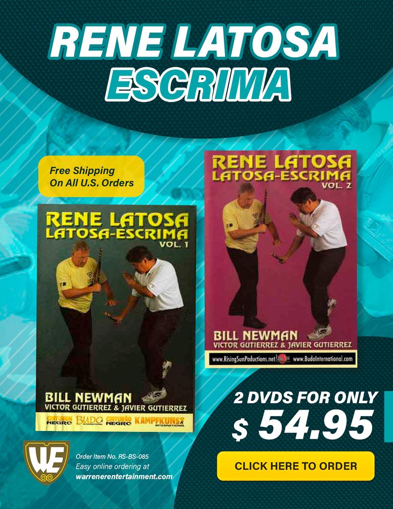 Rene Latosa Escrima Box Set ( 2 DVDs )