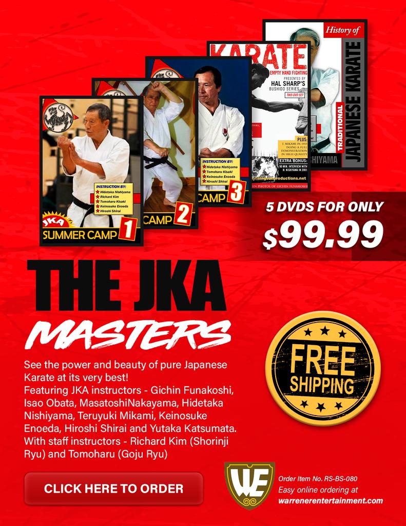 The JKA DVD Box Set ( 5 DVDs )