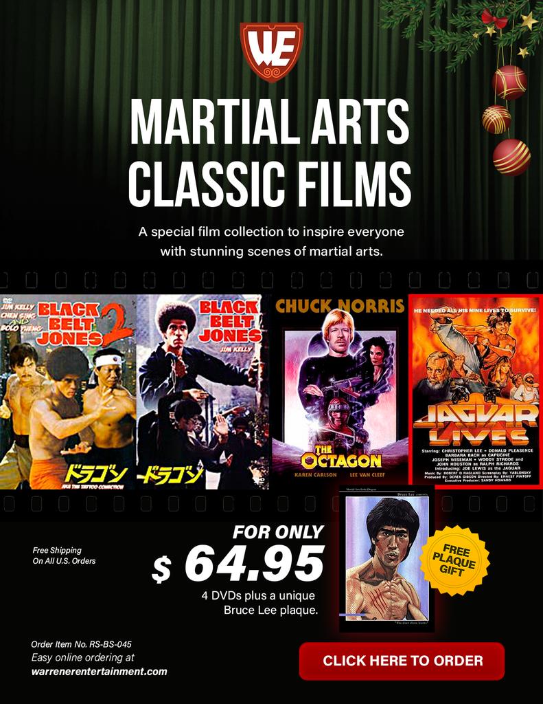 Martial Arts Classic Films Holiday Box Set