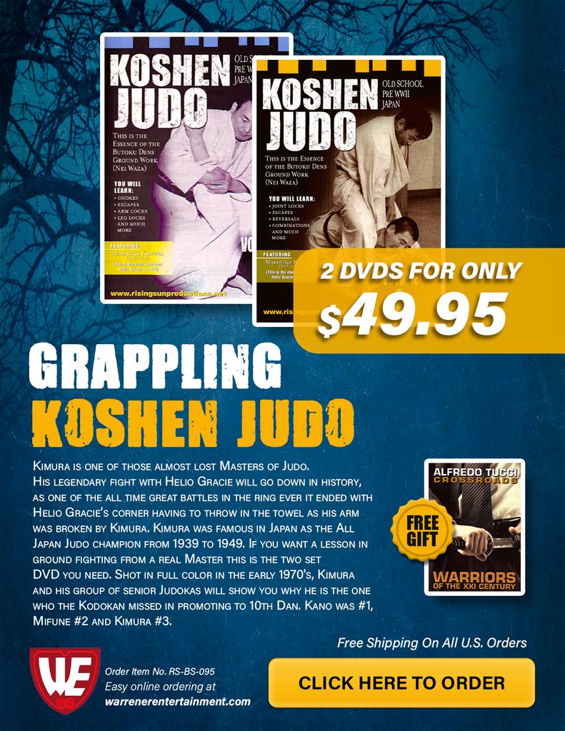 Grappling / Koshen Judo Special Box Set ( 2 DVDs + Free Book )