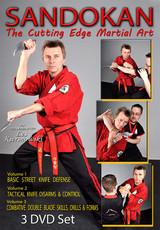 SANDOKAN (Vol-1, 2 & 3) The Cutting Edge Martial Art