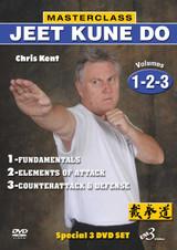 MASTERCLASS JEET KUNE DO DVD Set Vols.1-2-3