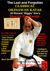 Lost and Forgotten Katas of Richard Biggie Kim's Shoring Ryu Karate Vol. 3 ( Download )