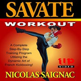 Savate #2 Workout French Kickboxing DVD Saignac