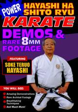 Power Hayashi Ha Shito Ryu Karate Demos & Rare 8MM Footage