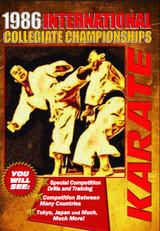 1986 International Collegiate Championships Karate