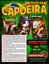 Capoeira  Direct From Brazil Box Set ( 3 DVDs )