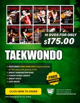Tae Kwon Do Box Set ( 10 DVDs )