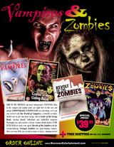 Vampires & Zombies Box Set ( 4 DVDs )