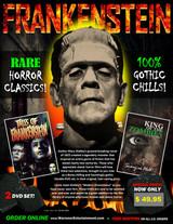 Frankenstein Box Set ( 2 DVDs )