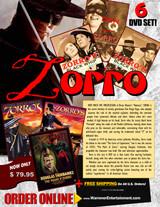 Zorro Box Set ( 6 DVDs )