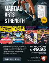 Martial Arts Strenght Special Box Set ( 4 DVDs + Free Book )