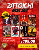 Zatoichi Box Set ( 8 DVDs )