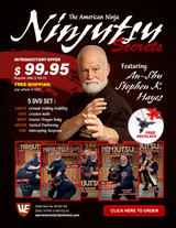 Ninjitsu Secrets Empty Hand Stephen Hayes Box Set ( 5 DVDs )