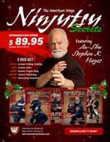 Ninjitsu Secrets Empty Hand Stephen Hayes Holiday Box Set ( 5 DVDs ) - Download