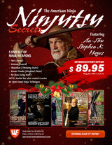 Ninjitsu  Secrets Weapons Stephen Hayes Holiday Box Set ( 5 DVDs ) - Download