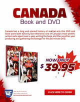 Canada- The History of Martial Arts in Canada Box Set ( 1 DVD + 1 Book )