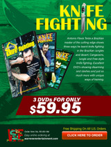 Knife Fighting Testa Box Set ( 3 DVDs )