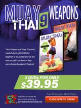 Muay Thai 9 Weapons Box Set ( 2 DVDs )