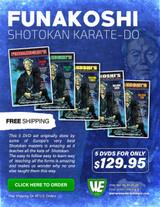 Funakoshi Box Set ( 5 DVDs )
