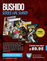 Bushido Series Hal Sharp  Box Set ( 5 DVDS )