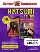 Hatsumi Sensei Box Set ( 2 DVDs )