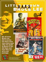 Little Known Bruce Lee Box Set ( 4 DVDs )