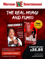 The Real Miyagi and Fumio Box Set ( 2 DVDs )
