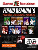 Fumio Demura Ancient Okinawan Kobudo Special Box Set (10 DVDs + Free DVD)