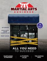 Martial Arts Business Magazine # 1 - Print Copy