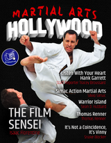 Martial Arts Hollywood Issue 1 Magazine Print Copy